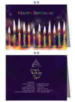 [BRD-CDL] 어린이집,유치원,미술학원,음악학원,태권도 도장,등 각종 생일 축하 카드 + 생일축하 노래 CD 1장 + 카드 속에 들어가는 편지지