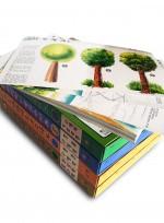 수채화 미술 교수자료 (수채화 기초 과정, 풍경수채화, 정물수채화, 과학상상화, 포스터, 한국화) 미술학원 아동미술교재