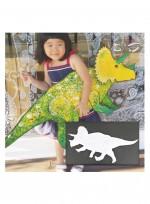 [움직이는 공룡]트리케라톱스 (조립단추 별도구매)