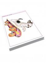 마이 펫 수채화(my Fets), 개와 고양이 수채화 일러스트레이션, 애완견 그리기, 애완고양이 그림, 미술학원 교재, 미술 자료집