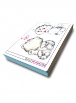[미술학원 교재] 캐릭터 300 ① 색연필, 색연필로 그린 카툰과 캐릭터, 애니메이션 자료집 100컷 수록