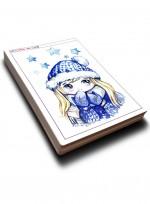 [미술학원 교재] 캐릭터 300 ③ 인물, 인물 카툰과 캐릭터, 애니메이션 자료집 100컷 수록